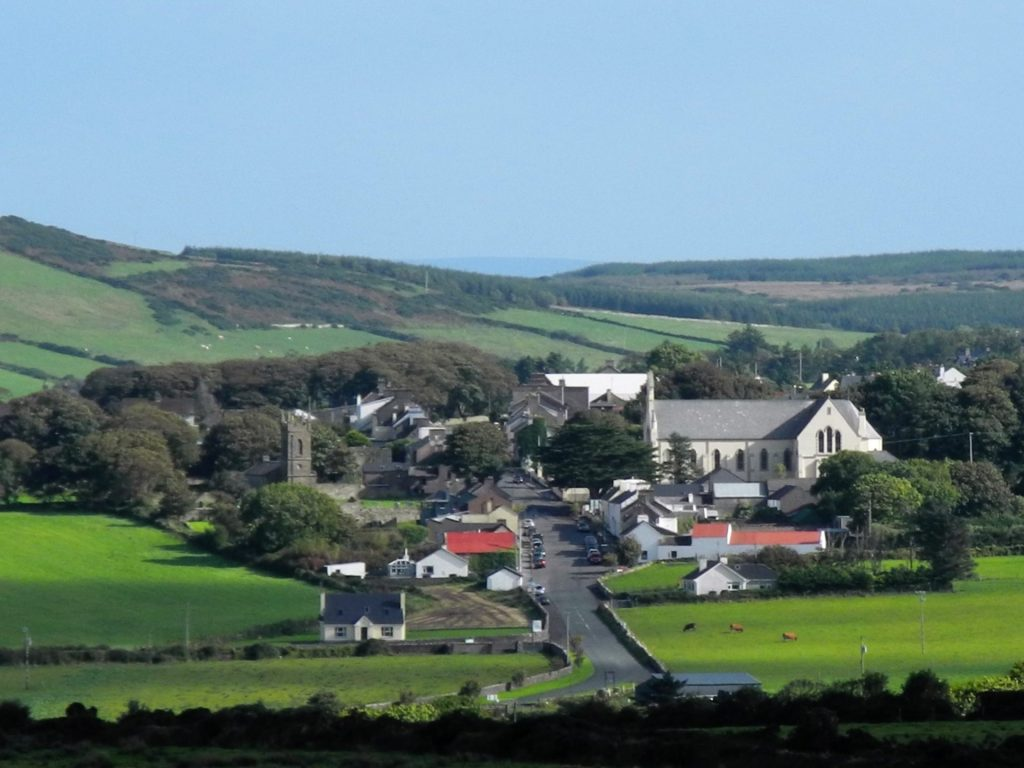 A view of Ballycastle in north Mayo.