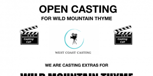 Casting call notice