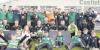 Castlebar Celtic celebrate winning the Mayo Super League title.