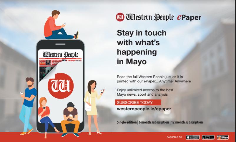 E-paper advert