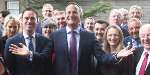 Leo Varadkar at the recent FG think-in.