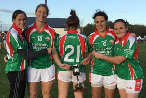 Four Carnacon players who have been present for each of the team's 21 county SFCs