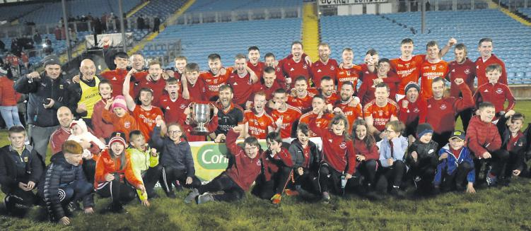 Ballintubber team celebrate