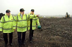 2015 sod turning on Mayo Renewable Power site.