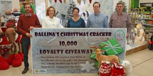 Ballina Chamber of commerce launching Christmas cracker bonanza