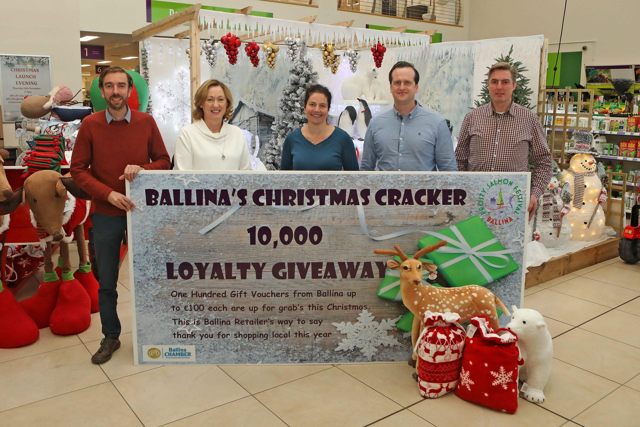 Ballina Chamber of commerce launching Christmas cracker bonanza
