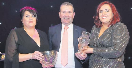Award recipients at Mayo Football League Annual Presentation Dinner and Awards Night in the Castlecourt Hotel, Westport.