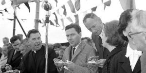 Gay Byrne at the Moy Salmon Festival