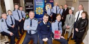 Group at Mayo Garda Youth Awards launch