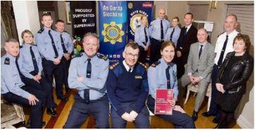 Group at Mayo Garda Youth Awards launch