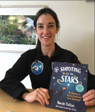 Ballina scientist astronaut candidate and author, Dr Norah Patten