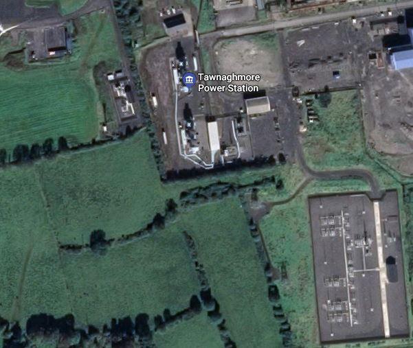 The Mayo Power plant site at Tawnaghmore near Killala.