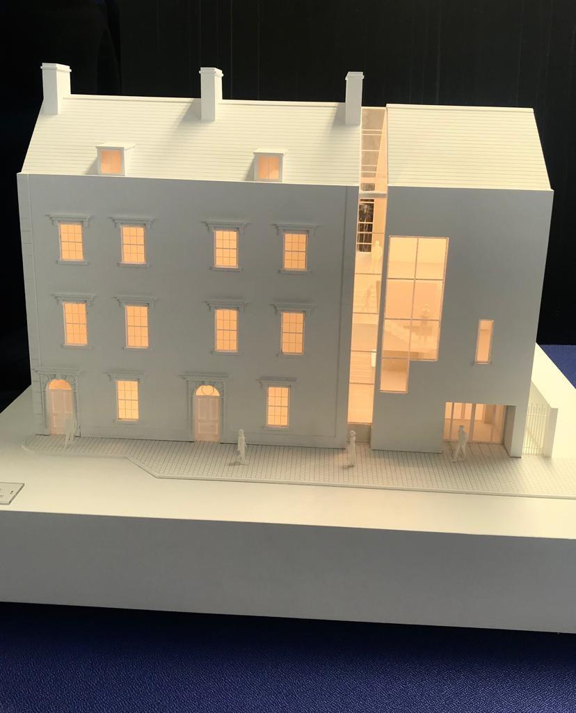 Model of Mary Robinson Centre