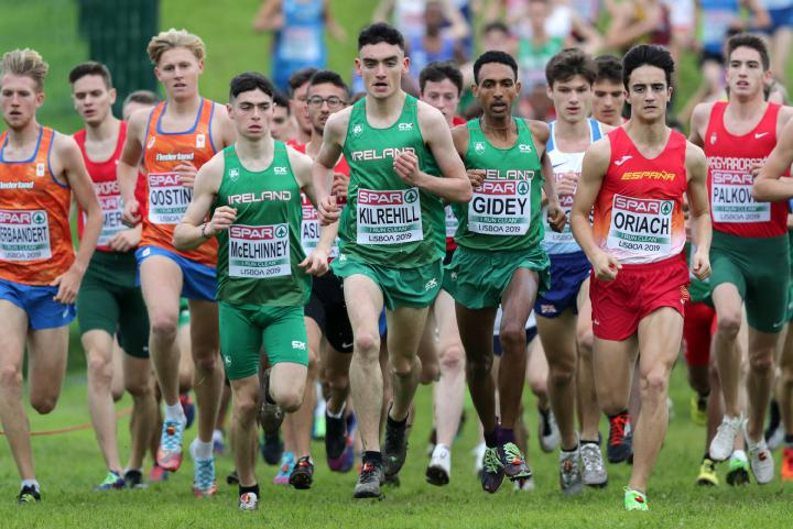 Men's under 20 European Cross Country Championship race