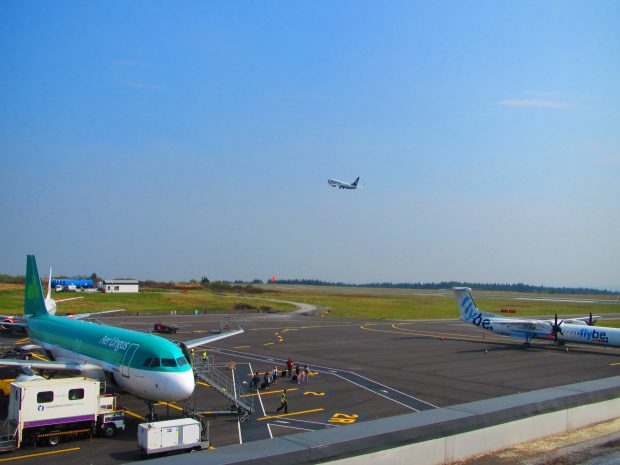 Ireland West Airport Knock's Airline partners include Aer Lingus, Flybe and Ryanair.