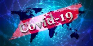covid-19 world map visual