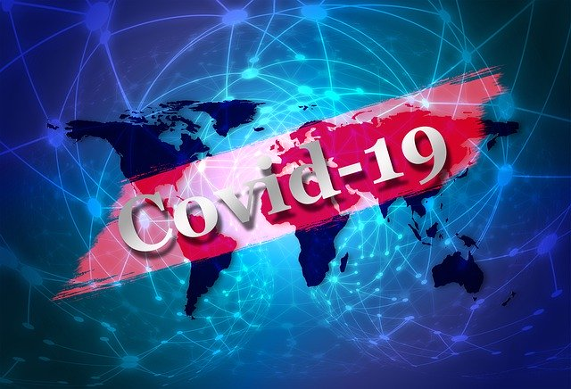 covid-19 world map visual