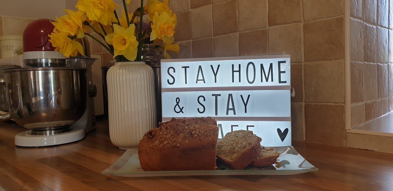 Siobhan's home-made brown bread
