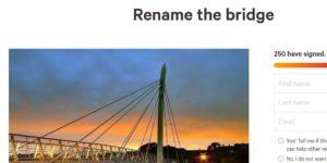 Bridge petition