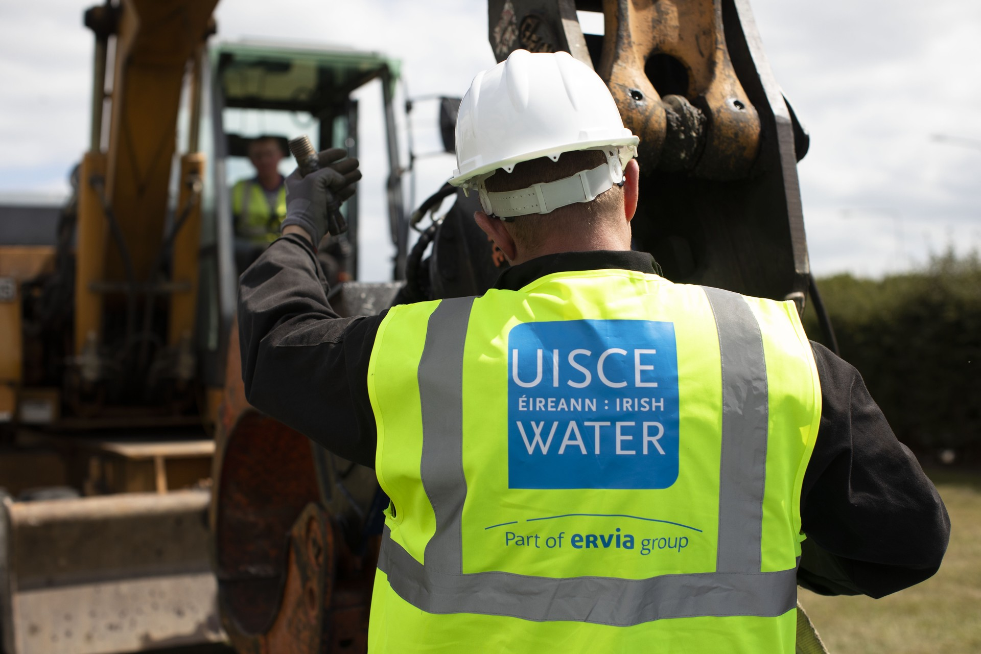 Irish Water water works