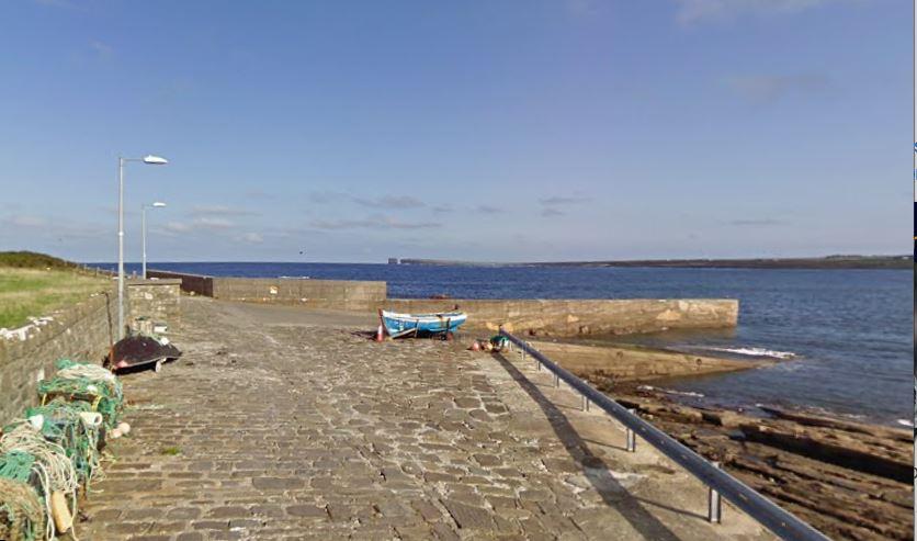 Ballycastle pier
